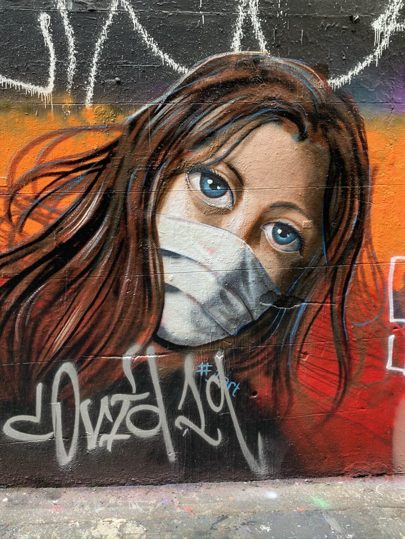 Street art in melbourne.